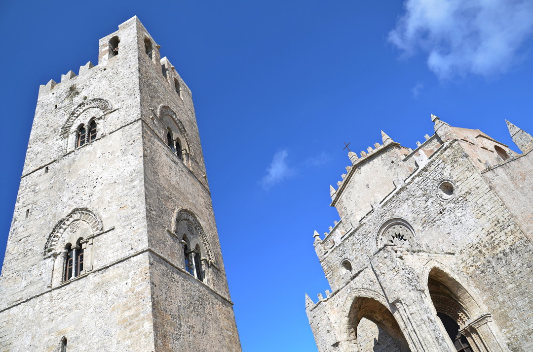 medieval church in Erice